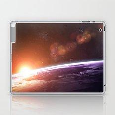 Earth and Rising Sun Laptop & iPad Skin