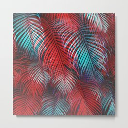Tropical Tremolo Metal Print