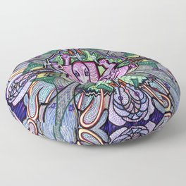Lotus Ganesh Floor Pillow
