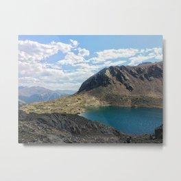 Chihuahua Lake Metal Print