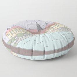 Castle Moritzburg Saxony - Cinderella Floor Pillow