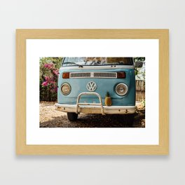Combi & Piña Framed Art Print