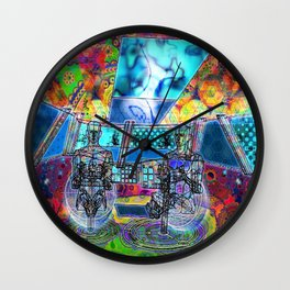 Space Rangers Wall Clock