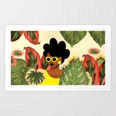 Bayou Girl II Art Print