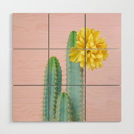 She wore flowers in her hair Wood Wall Art
