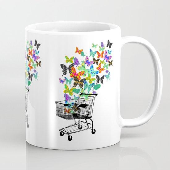 Urban Butterflies Mug
