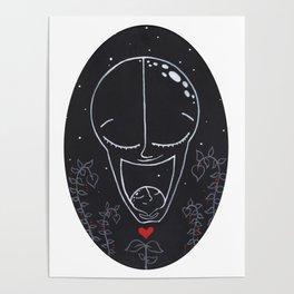 New Moon Mama Poster
