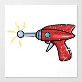 Ray Gun Canvas Print