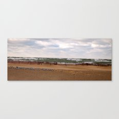 Winter in South Haven Canvas Print