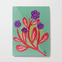 Nocturnal Flower Metal Print
