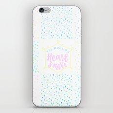 Heart Smile iPhone Skin