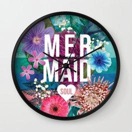 Mermaid Soul <3 Wall Clock