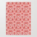 Red Starfish Art Deco' Ellegant by pagedesigns