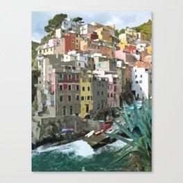 Riomaggiori Canvas Print