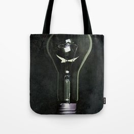 Giant Industrial Light Bulb Tote Bag