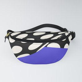 Wavy Dots on Blue Fanny Pack