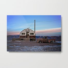 Tecopa at Twilight Metal Print