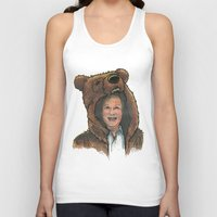 marc Tank Tops featuring Bear Suit Marc by Kyle Miller