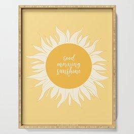 Good Morning Sunshine Serving Tray