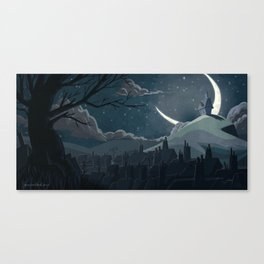 A Goodnight for Dreams Canvas Print