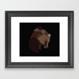 Heart Of Wool Framed Art Print
