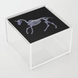 Unicorn Fossil Acrylic Box