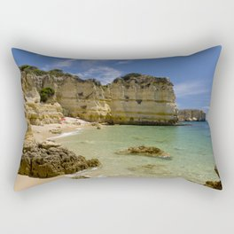 Albufeira cove Rectangular Pillow