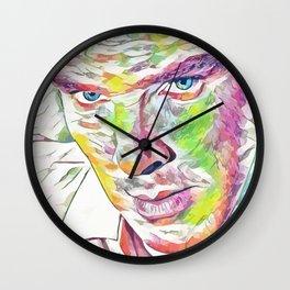 Benedict Cumberbatch (Creative Illustration Art) Wall Clock