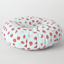 Cute Blood Cells Pattern Floor Pillow
