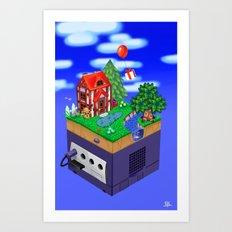 Animal Crossing- Summer Art Print