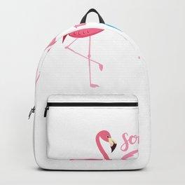 Womens Soon To be Grammy 2020 Costume Cute Flamingo Grandma Gifts T-Shirt Backpack