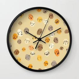 Funny Faces Wall Clock