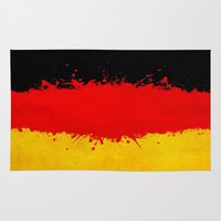 germany Area & Throw Rugs featuring Germany by Nicklas Gustafsson