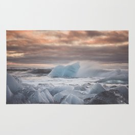 The Ice Cold Heaven - Landscape and Nature Photography Rug