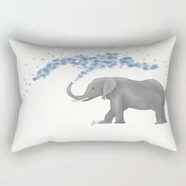 Eli the elefant Rectangular Pillow