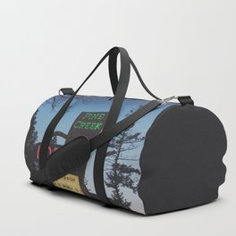 Pine Creek Lodge Duffle Bag