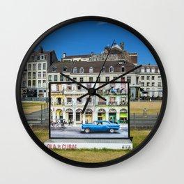Ola Cuba Lille Wall Clock