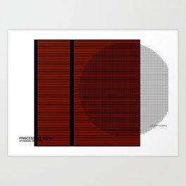 Minimal Unplugged Art Print