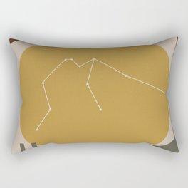 AQUARIUS (MID-CENTURY MODERN ART) Rectangular Pillow