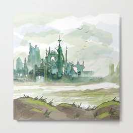 Guild wars 2 inspired Metal Print