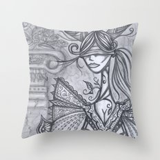 Blind Sensibility (Sketch) Throw Pillow