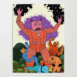 Catastic Four Poster