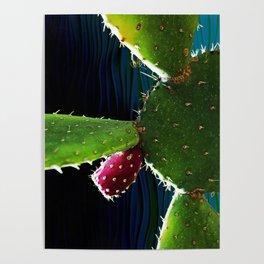 Cactus Needs A Hug Poster