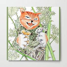 MOUSE ADVENTURES 1 Metal Print