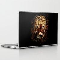 tomb raider Laptop & iPad Skins featuring Tusken Raider by Sirenphotos