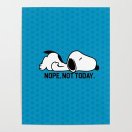 snoopy sleep Poster