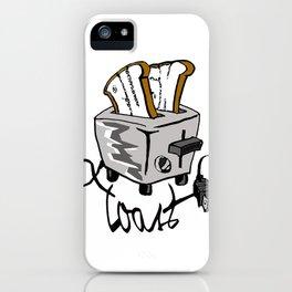 Push Toast iPhone Case