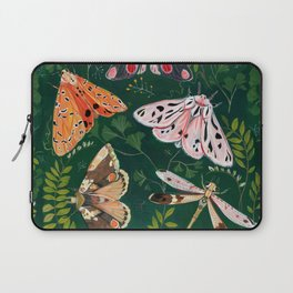 Moths and dragonfly Laptop Sleeve