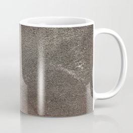 Crumpled Sandpaper Texture Coffee Mug