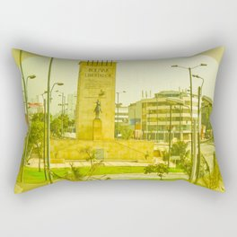 "COLOMBIA BOGOTA CITY ""THE HEROES"". Rectangular Pillow"